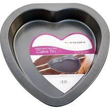 NONSTICK PAN HEART SHAPE BAKING TINS CAKE PAN PIE MOULD BAKE PARTY NON STICK NEW