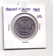Polonia Polska   1 zloty 1985    SPL    (m91)