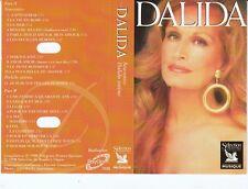 K 7 AUDIO (TAPE)  DALIDA *SOUVENIRS / DALIDA INTIME*