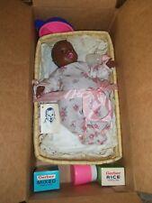 """Gerber Black Baby Doll 1970's? - 12"""" Black Aa Atlanta Novelty"""