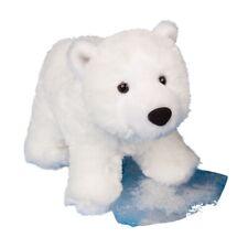 WHITEY the Plush POLAR BEAR Stuffed Animal - by Douglas Cuddle Toys - #4061