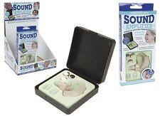 Personal Mini Natural oír el sonido amlifier Enhancer & Plástico Duro Funda