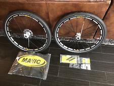 "Nuevo viejo stock 26"" Mavic Crossmax SLR CANNONDALE LEFTY juego de ruedas, sistema universal neumáticos tubeless Tubeless Disco con"