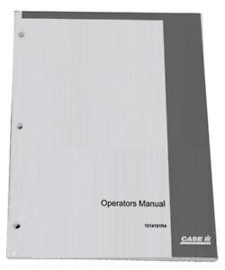 CASE IH Farmall 110A,120A,125A,140A Tier 3 Owners Operators Instruction Manual