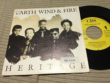 "EARTH WIND & FIRE SPANISH 7"" SINGLE SPAIN ONE SIDED - HERITAGE - FUNK"