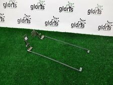 Used ASUS X53s K53E LCD Screen Hinges Set Brackets 13GN3C10M030-3 13GN3C10M040-3