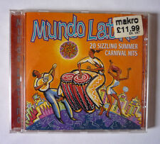 MUNDO LATINO SUMMER CARNIVAL HITS 1995 CD ALBUM - GOOD CONDITION