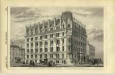 1872 New Shipping Warehouse In Deansgate Manchester, Thomas Worthington