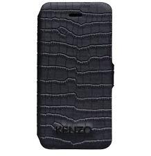 Kenzo KE264880 Etui flip Housse Cuir pour Samsung Galaxy Note 3 N9000 Noir