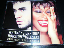 Whitney Houston & Enrique Could I Have This Kiss Forever Australian Remix CD EP