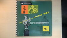 "The Story of The MUSIC BOX Book-Records Inc. Book & Record 10"" 33 1/3rpm 1952"