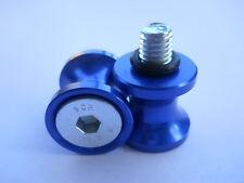 Suzuki Bobbins Spools, Rear stand spools BLUE, 8mm