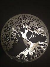 "Wall Art Metal Cutout of Life Tree 18"""