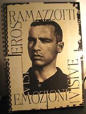 EROS RAMAZZOTTI- EMOZIONI VISIVE- MONDADORI 1997- A7