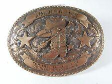 1990 Amarillo Star Texas Belt Buckle By CREATIVE CASTINGS 5216
