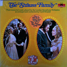 CYRIL ORNADEL - THE STRAUSS FAMILY - POLYDOR - 2 LP SET - STILL SEALED