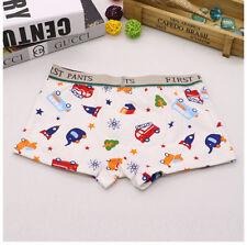 Children Boy Cartoon Car Kids Underpants Cotton Soft Boxer Briefs Underwear