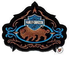 HARLEY DAVIDSON BUFFALO WESTERN STYLE PATCH * DISCONTINUED DESIGN * VEST JACKET