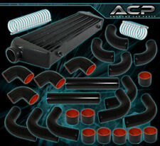 "Aluminum Turbo 27.5""X2.7""X7"" Front Mount Intercooler +8Pcs 64MM Piping Pipe Kit"