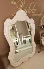 Specchio da Parete Parrucchiere Specchi Bagno Fluspiegel Bianco Shabby
