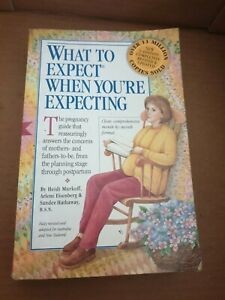 WHAT TO EXPECT WHEN YOU'RE EXPECTING (BOOK) GOOD USED CONDITION Pre Owned