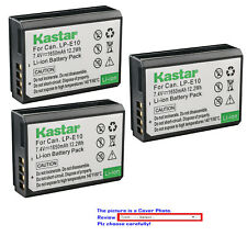 Kastar Replacement Battery for Canon LP-E10 LC-E10 & Canon EOS Rebel T7 DSLR