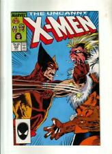 X-Men #222 - Wolvie vs Sabretooth;  Marvel 1987  VF+
