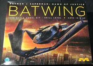 Moebius Batwing Batman vs Superman Dawn of Justice 1/25 Open Complete
