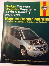 Dodge Caravan Chrysler Voyager & Town & Country: 2003 thru 2007 (Haynes Automoti