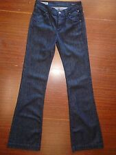 CITIZENS OF HUMANITY HUTTON #251 STRETCH HIGH RISE WIDE LEG JEANS 25 NEW.