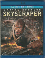 SKYSCRAPER (2018 Blu-ray) Dwayne Johnson