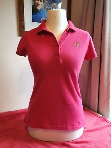 US POLO ASSN. Ladies Polo Shirt pink large
