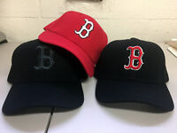 Boston Red Sox Cap Logo Hat Embroidered Men Adjustable Curved