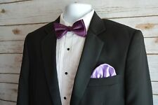 Mens Pocket Square Latest Stylish Italian Silk Puff For Party Weddings Lilac