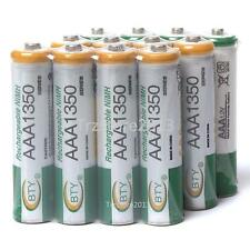 Hot Sale 12 X AAA 1350mAh NiMH Rechargeable Batteries Battery for Camera Toys