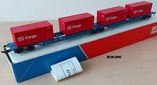 Roco Art. Nr. 47103 Doppeltragwageneinheit DB Cargo HO, DC neuwertig