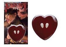 Scarecrow Love Bite Fangs Halloween Fancy Dress Costume Deluxe Vampire Teeth