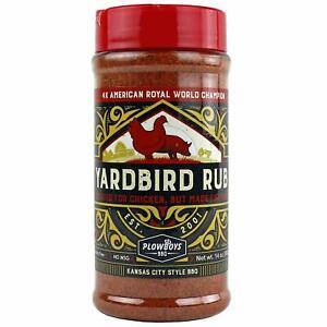 BBQ RUB - Plowboys BBQ - Yardbird Rub - FREE POST!!