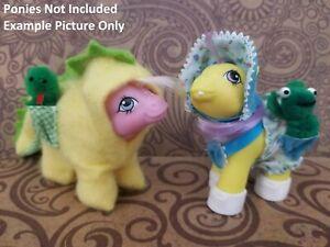 """My Little Pony (G1) - """"Dragon Suit & Sunsuit"""" Baby Pony/Pocket Pals (Multi-List)"""