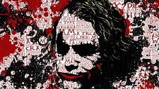 Poster 42x24 cm Joker Batman 04
