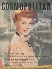LUCILLE BALL - COSMOPOLITAN MAGAZINE JAN 1953