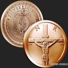 New listing Silver Shield | Crucifixion of Christ 2019 | 1 oz Avdp .999 Pure Cu Copper Round