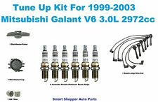 Tune Up Kit 1999-03 Mitsubishi Galant Spark Plug Wire Set, Distributor Cap Rotor