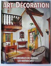 ART & DECORATION du 04/1983; Les meubles de Jardin / Les Barbecues/ Parfumerie
