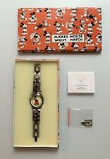1933 MICKEY MOUSE Balloon Pants Watch Wristwatch Bradford Exc. Reproduction NIB