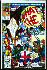 Marvel Comics WHAT THE..?! #16 Spider-Man Iron Man NM- 9.2