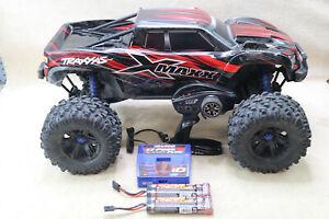 Traxxas XMAXX 6s RTR 1/5 Truck EZ-Peak Plus Charger 2 NiMH 3000 Batteries Video
