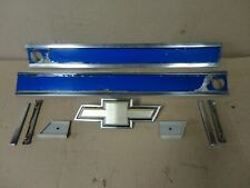 85-87 Chevy Pickup Truck Square Body Silverado Front Grille Grill Trim Moldings