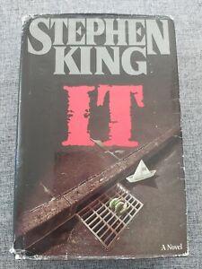 Stephen King - IT - 1986 VIKING US Import First Edition Hardback