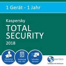 Kaspersky Total Security 2018 - Multi-Device, 1 Gerät - 1 Jahr, ESD
